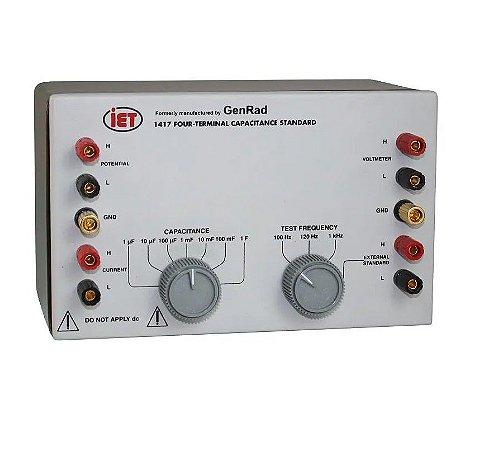 IET Labs GenRad SÉRIE 1417- Padrão de Capacitância 1μF – 1 F