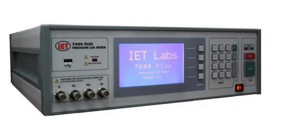 IET Labs QUADTECH 7600 Plus – Medidor de LCR de Precisão – 10 Hz a 2 MHz