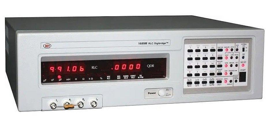 IET Labs GenRad 1689 e 1689M – Medidor de Impedância de Precisão – 12 Hz – 100 kHz