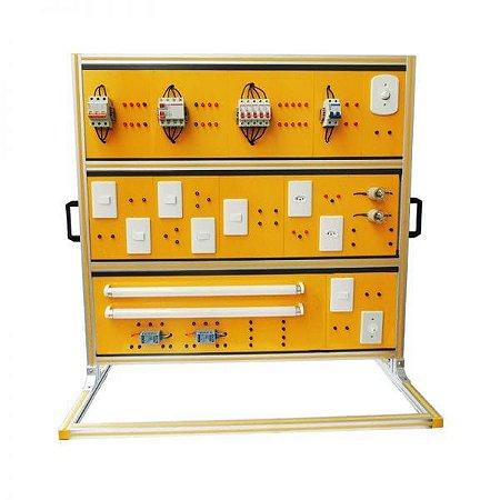 Módulo Didático de Instalações Elétricas Residenciais - ZL IER