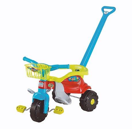 Triciclo Smart Super Festa Azul 2560 - Magic Toys