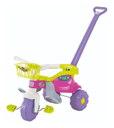 Triciclo Smart Super Festa Rosa  - Magic Toys