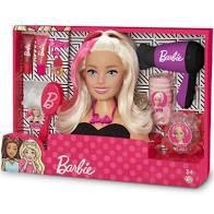 Barbie Busto Secador e Acessórios de Beleza - Puppe