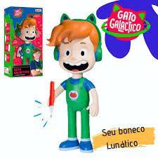 Boneco Gato Galactico - Baby Brink