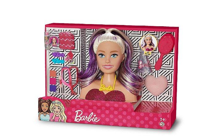 Barbie Busto Maquiagem - Puppe