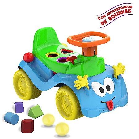 Totokinha Menino Bolinha Azul - Cardoso Toys