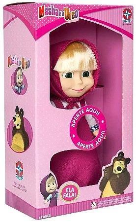 Boneca Com Som - Masha - Masha E O Urso - Estrela
