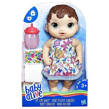 Baby Alive Hora do Xixi Morena E0499