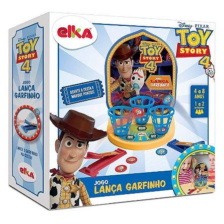 Jogo Lança Garfinho Toy Story Elka