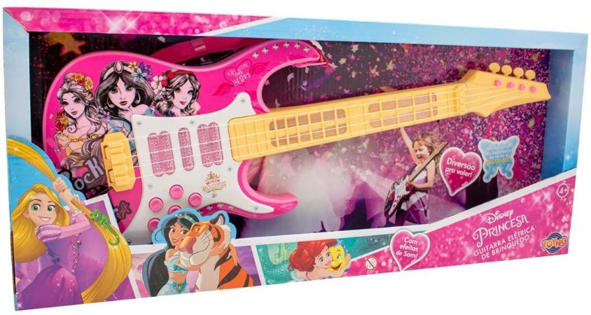 Guitarra Musical Princesas Toyng