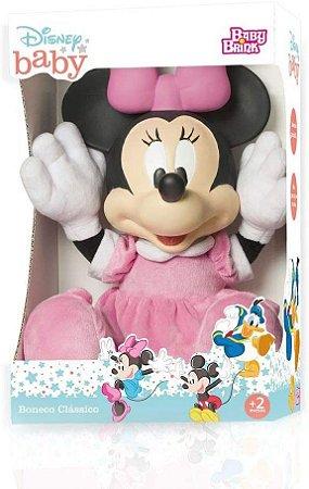 Boneca Minnie Disney Baby Baby Brink