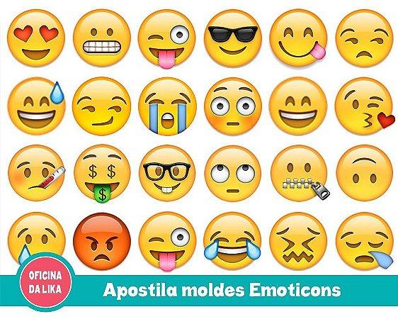 APOSTILA MOLDE EMOTICONS