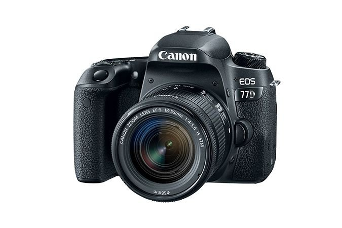 Canon Eos 77d 18-55mm F4-5.6 Is Stm