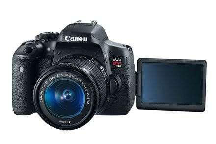 Canon T6i Kit 18-55mm IS STM + 50mm 1.8 Stm