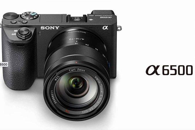 Sony A6500 16-50 Aceita Microfone/flash Externo
