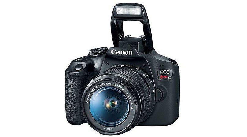 Canon T7 Lançamento kit 18-55mm 24mp, Fullhd, Wifi