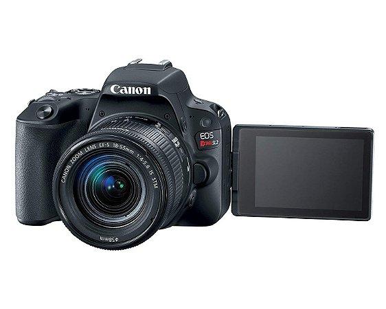 Canon SL2 Ef-s 18-55mm, 24,2mp, Full Hd, Wi-Fi