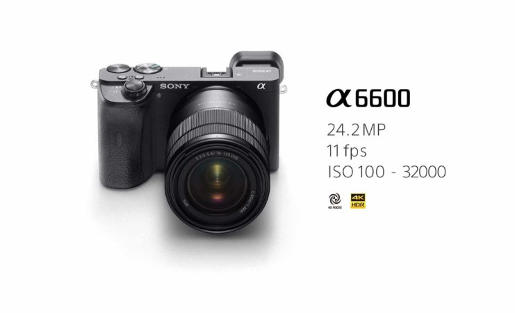 Sony Alpha A6600 kit 16-50 video 4k Mirrorless 24MP