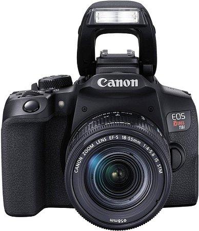 Canon t8i kit 18-55 24mp video 4k