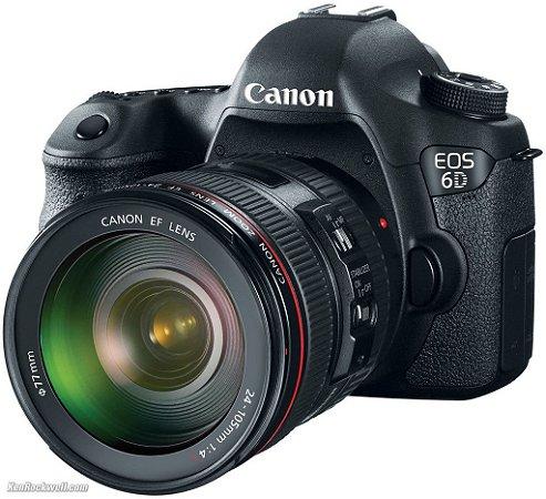 Canon EOS 6D DSLR-EF 24-105M