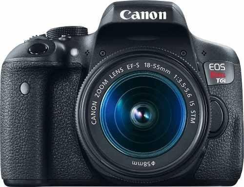 Canon Rebel T6i 18-55mm