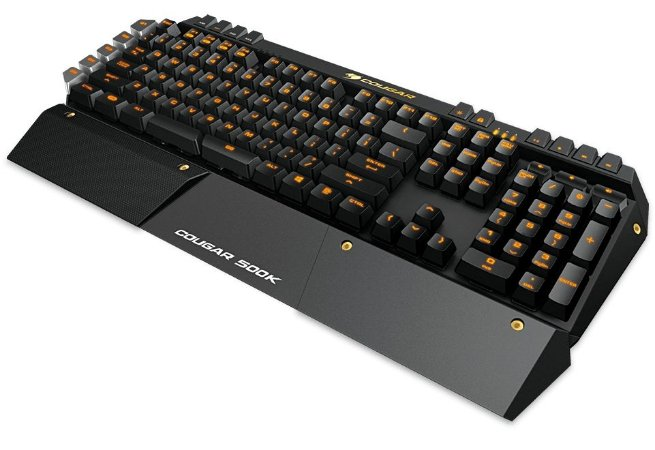 Teclado Gamer Cougar 500K