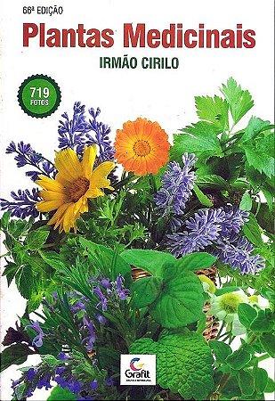 4 UN- Livro Plantas Medicinais - Irmão Cirilo - 66ª Edição
