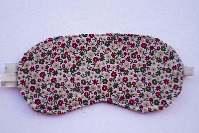 Máscara de dormir Floral Vintage
