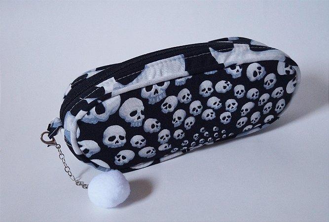 Estojo escolar Skull