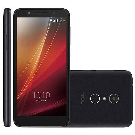 """Smartphone TCL L9 Plus, 5,5"""", 16GB de ROM e 2GB de RAM, Câmera traseira com flash 8MP e ainda 5MP selfie , Octa Core, Android 9, Desbloqueio Facial e Digital e TV Digital SEMP"""