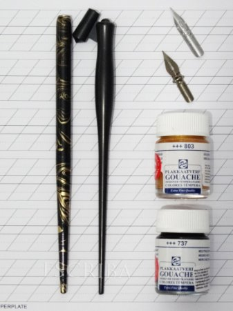 Kit Para Caligrafia Copperplate - Básico IV