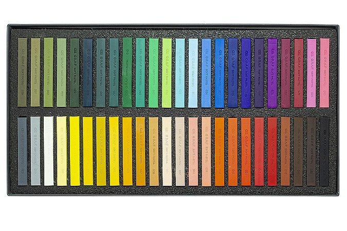 Giz Pastel Seco Cis Graf Soft Pastels 48 Cores