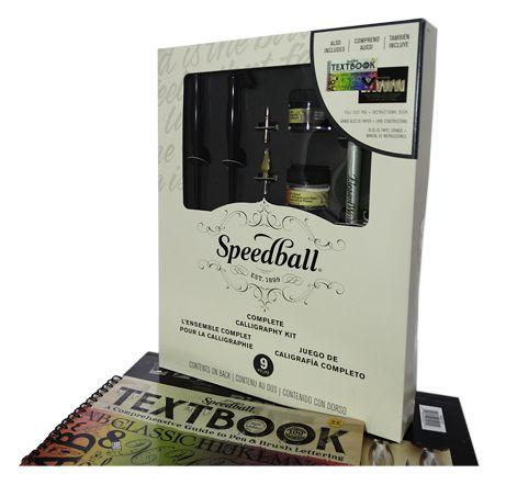 Kit Completo Para Caligrafia Artística - Speedball