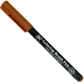Caneta Pincel Koi Coloring Brush Pen Sakura - Sienna Crú XBR#14