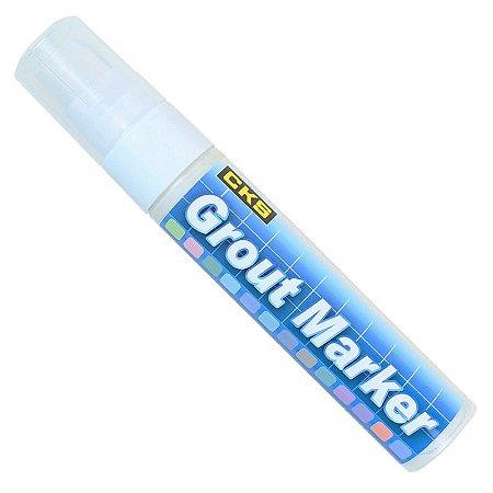 Caneta Marcador Rejunte Grout Marker CKS Branca 15mm