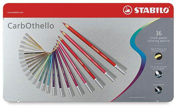 Lápis De Cor Stabilo Carbothello 36 Cores