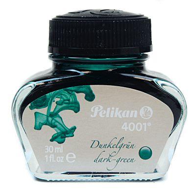 Tinta Para Caneta Tinteiro Pelikan 4001 Verde Escuro 30ml