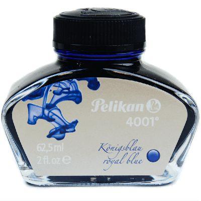 Tinta Para Caneta Tinteiro Pelikan 4001 Azul Royal 62,5ml