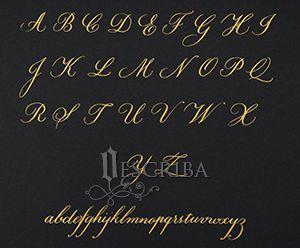 Manuscrito Copperplate - A05