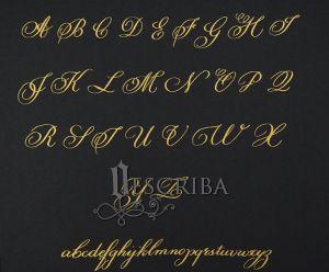 Manuscrito - Alfabeto Cursiva - B01