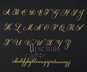 Manuscrito - Alfabeto Cursiva - B03