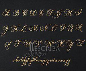Manuscrito - Alfabeto Cursiva - B04