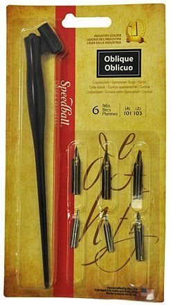 Kit Para Caligrafia Speedball Oblique 2968