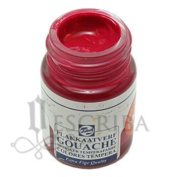 Tinta Guache Para Caligrafia - Talens Rosa Escuro 362 - 16ml