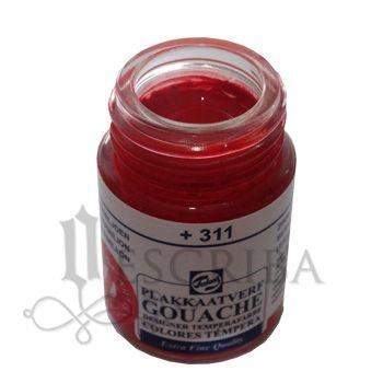 Tinta Guache Para Caligrafia - Talens Vermelhão 311 - 16ml