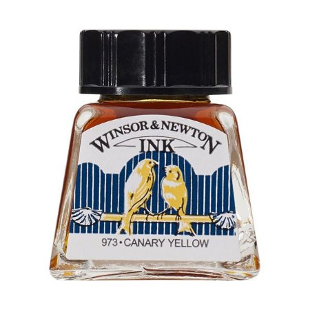 Tinta Para Desenho Winsor & Newton 14ml Canary Yellow