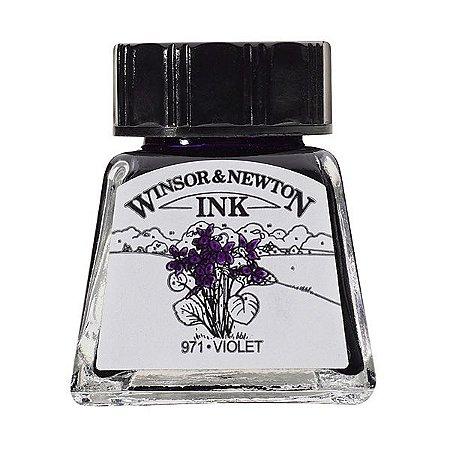 Tinta Para Desenho Winsor & Newton 14ml Violet