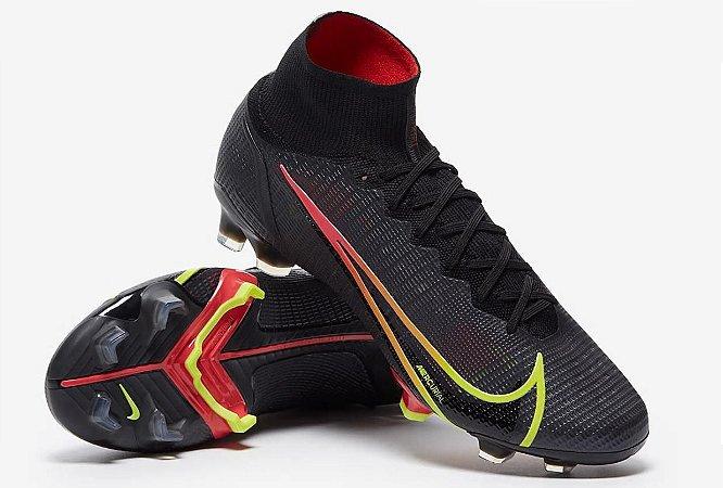 Nike Mercurial Superfly VIII Elite FG - Black/Cyber/Off Noir