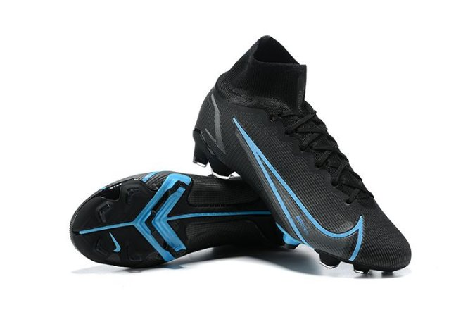 Nike Superfly 8 Elite FG - Black/Blue