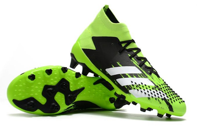 Chuteira Campo Adidas Predator Mutator 20.1 - Verde